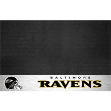 Baltimore Ravens NFL Team Logo Patio Grill Mat