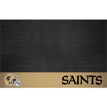 New Orleans NFL Team Logo Patio Grill Mat