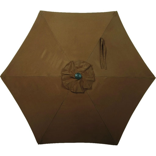 7.5' Brown Tilt Patio Umbrella