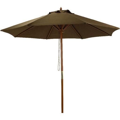 7 5 Market Patio Umbrella Brown Canopy