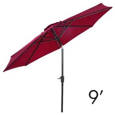 9-Foot Umbrellas