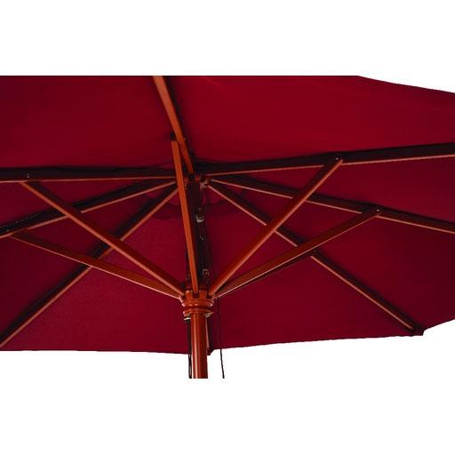9 Market Patio Umbrella Burgundy Canopy