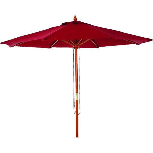 9' Market Burgundy Canopy Patio Umbrella