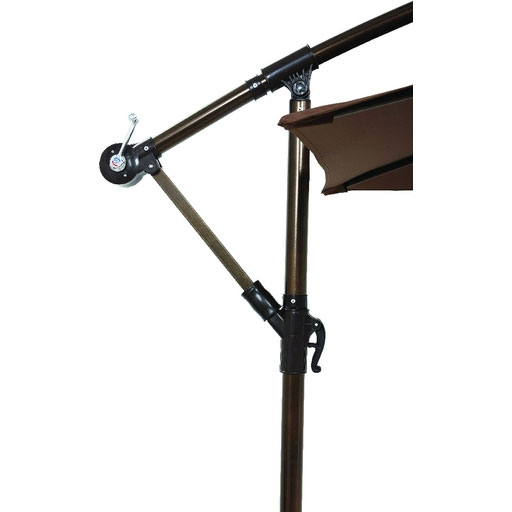 10' RD Steel Offset Umbrella