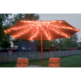 9' Outdoor Umbrella Table Screen in White or Black 017874003181 | eBay