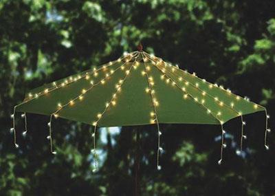 Outdoor Patio & Beach Umbrella Accessories Oogalights