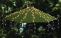 Patio Table Over The Umbrella Mini LED String Light Strand Set - Cool White - 20 Strands