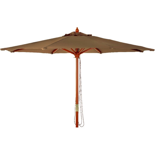 9 market brown canopy umbrella