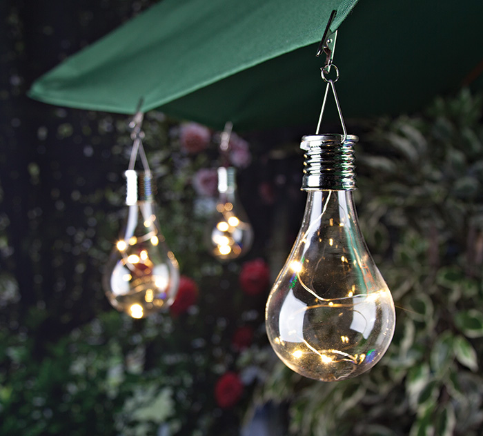 6 oudoor decorative solar light bulb - Decorative garden lights ...