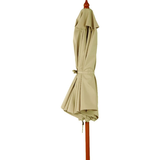 7.5' Tan Market Patio Umbrella