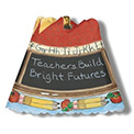 Apple For Teacher Revolving Spin Shade Night Light - 02648