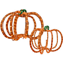 Halloween Pumpkin Party Rope Lights