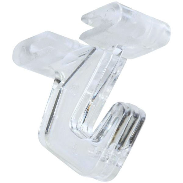 Clear Suspended Ceiling Track Hooks