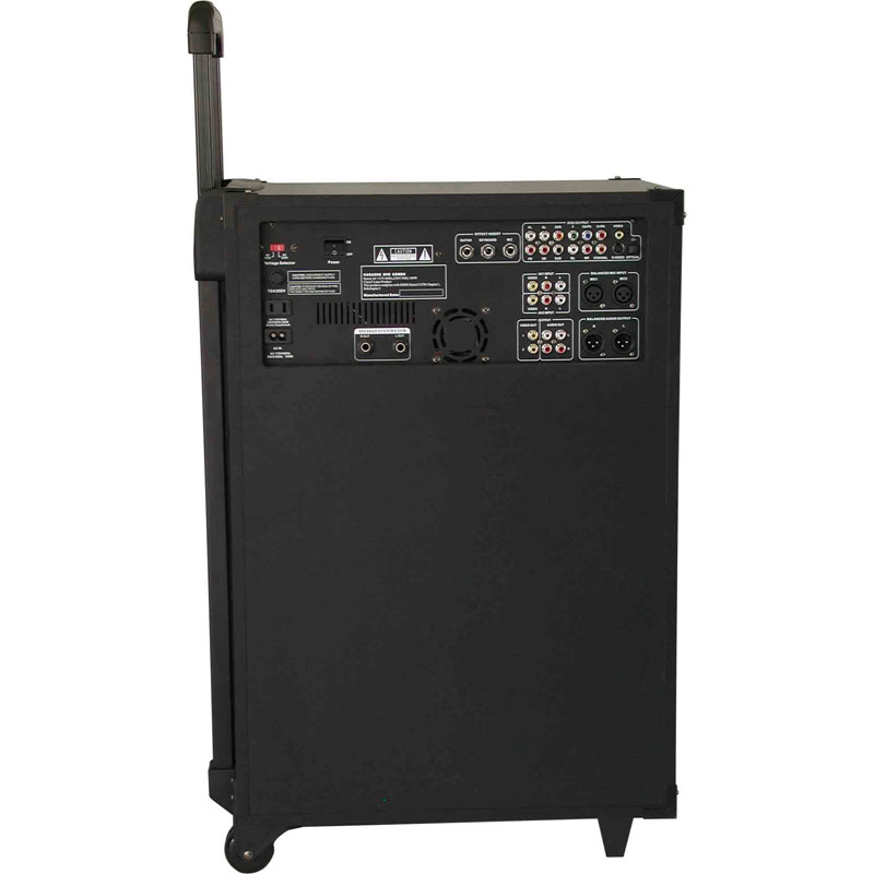 All-In-One Karaoke/PA System w/ USB/SD-Card Reader