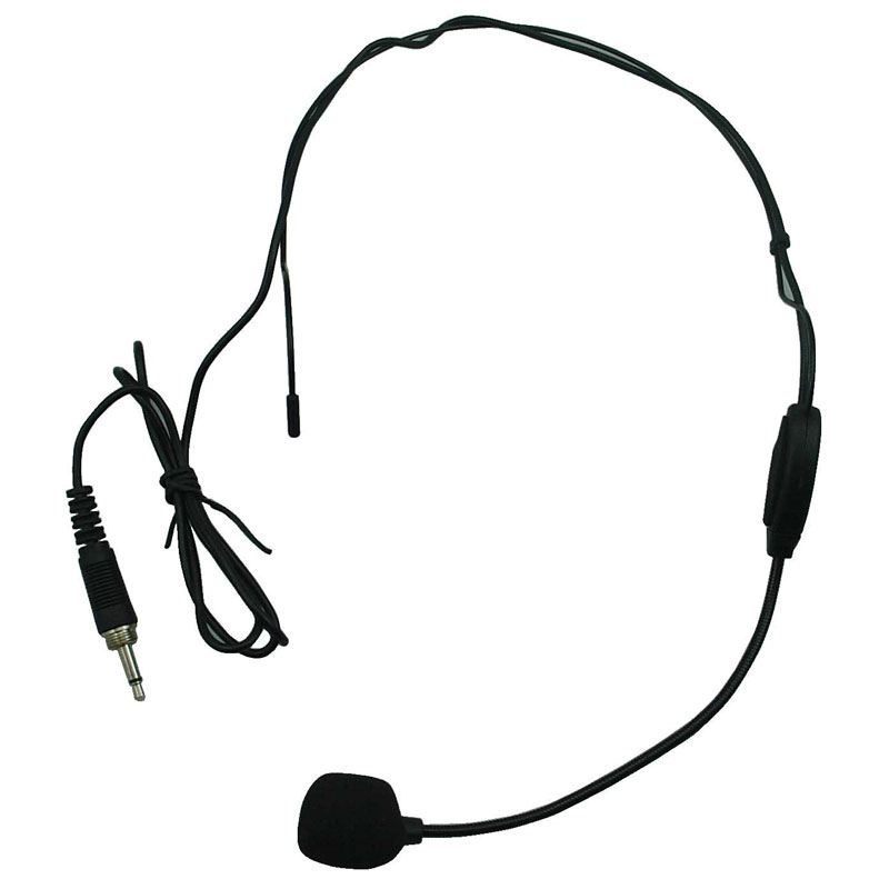 Portable Wireless PA System w/ Wireless Headset Mic
