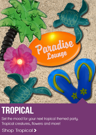 Tropical Lighting Decorations