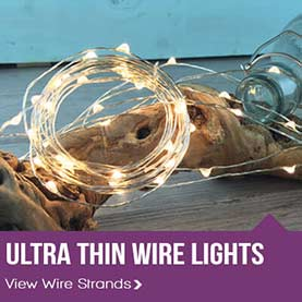 ultra thin wire lights