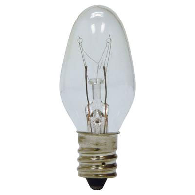 4 watt c7 clear nightlight bulb. Black Bedroom Furniture Sets. Home Design Ideas