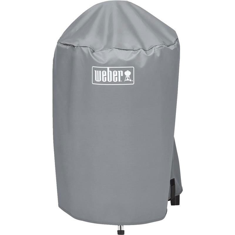Vinyl Gray Kettle Grill Cover - 18