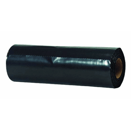 Black polyethylene plastic sheeting tarp 18 quot x 300 6 mil black