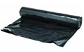 Plastic Theater Sheeting Drop Tarp  - 15' x 25' - 4 Mil. - Black - 4 Pack - 102083
