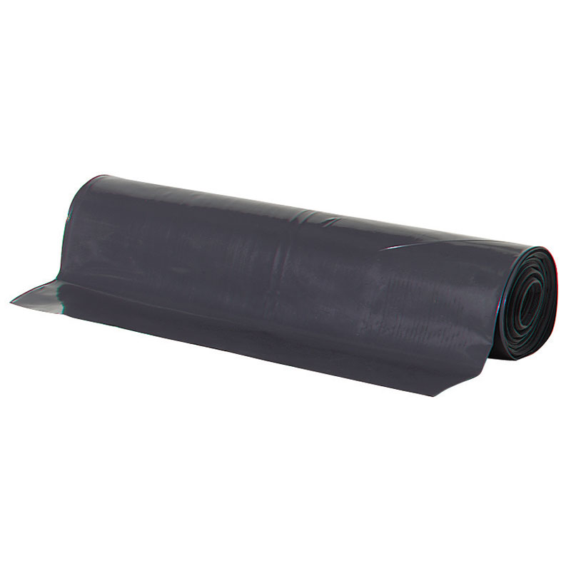Black polyethylene plastic sheeting tarp 10 x 100 6 mil black