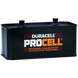 4 Pack Duracell PROCELL [PC903] Alkaline Lantern Batteries - Size
