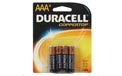 4 Pack AAA Duracell Ultra Batteries 807095