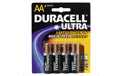 4 Pack AA Duracell Ultra Batteries 808555