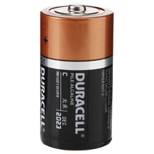 4 Pack C Duracell Batteries