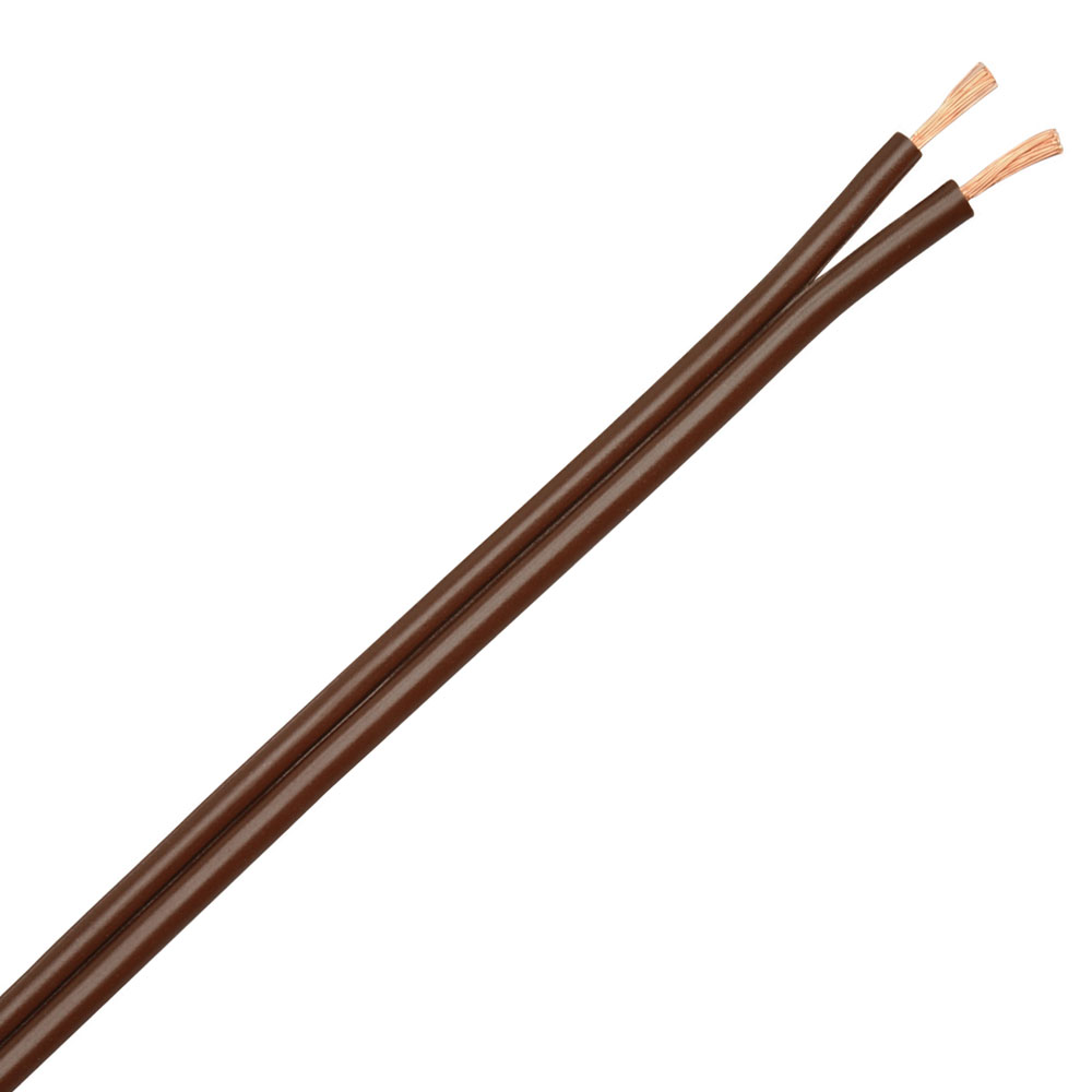250 foot 18/2 Brown SPT Lamp Cord