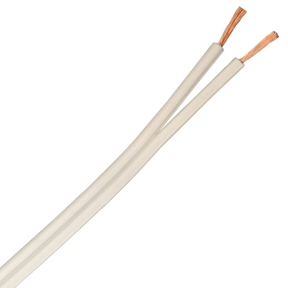 250 foot 16/2 White SPT-2 Lamp Cord