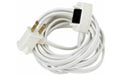 15' Extension Power Cord w/ ON/OFF Switch - White Cord - 516678