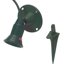 Outdoor Floodlight Lamp Stake Light Holder