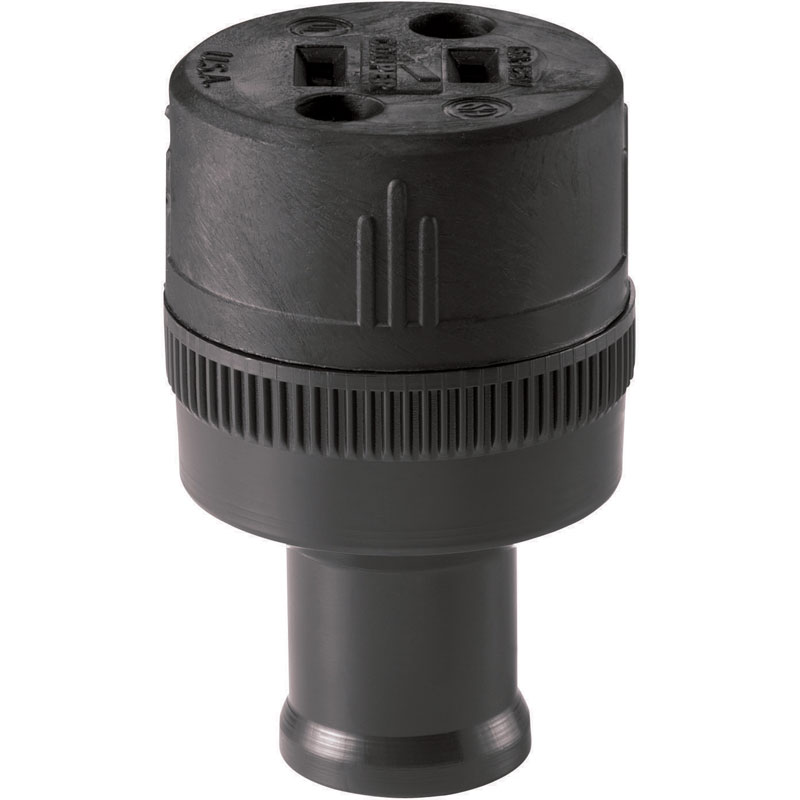 Large Round Handle Power Cord Connector
