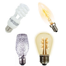 Light Bulbs - All Styles