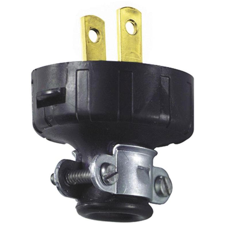 Leviton Heavy-Duty Cord Plug - Black