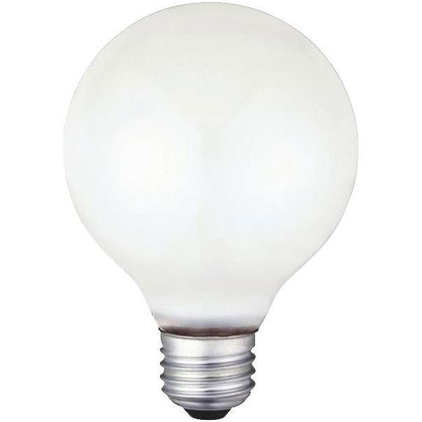 G25 40 Watt Globe Light Bulb
