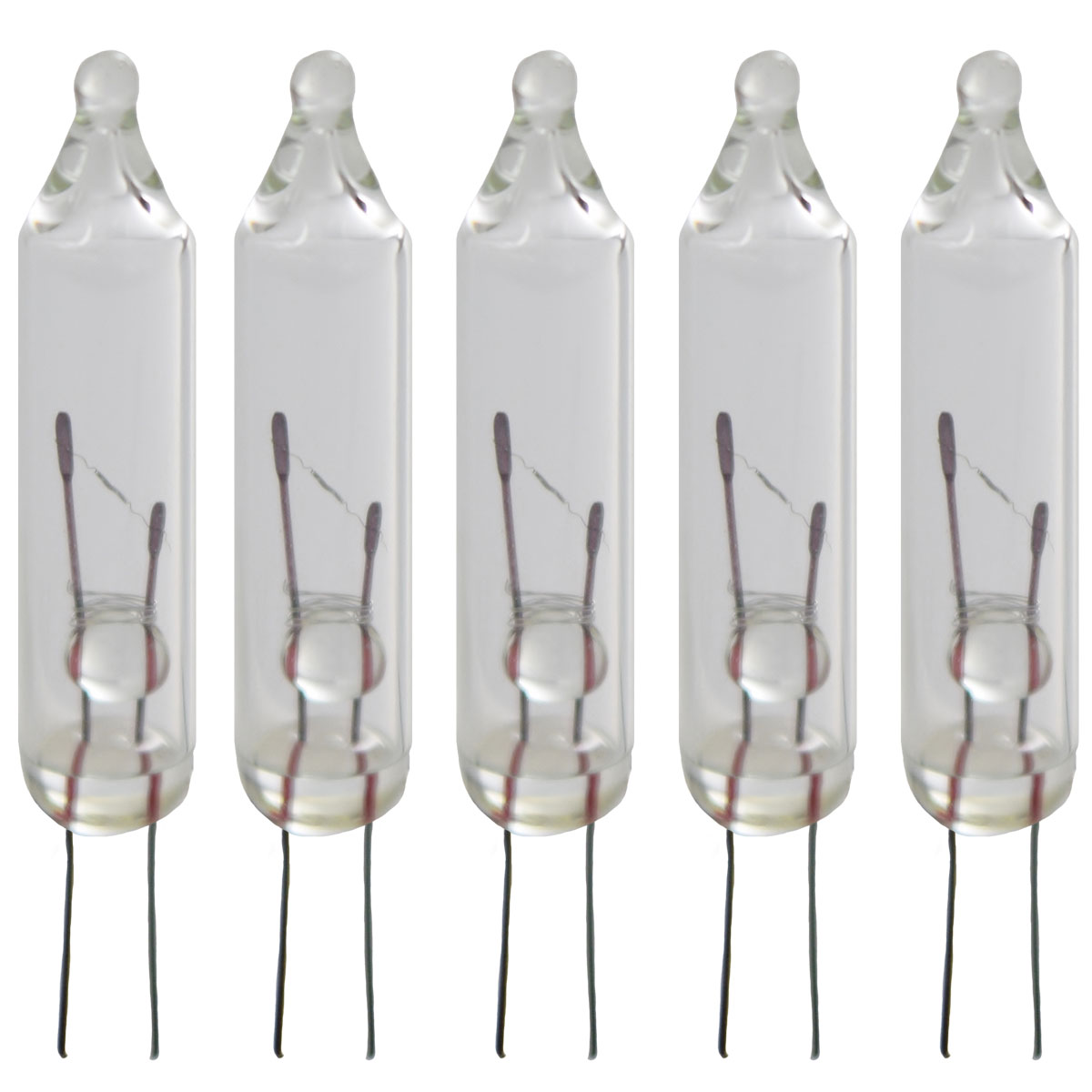 String Lights With Replacement Bulbs : Clear Replacement String Light Bulbs - 5 Bulbs