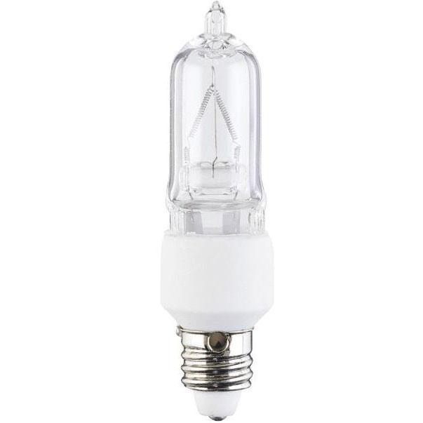 t4 50 watt clear halogen light bulb single ended. Black Bedroom Furniture Sets. Home Design Ideas