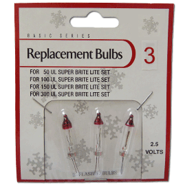 Flasher Replacement String Light Bulbs
