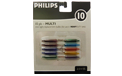 Multi Color Replacement String Light Bulbs - 2.5V - 10 Pack - 904150