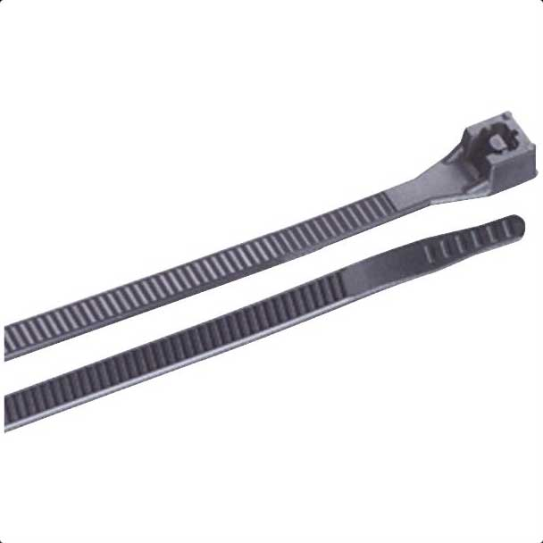 "Black Cable Ties - 11"" - 100 Pack 501118"