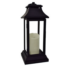 Luminara Battery Operated Flameless Candle Lantern - 15""