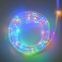 Multi Color LED Rope Light - Battery Operated - 15 Feet