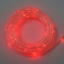 15' Red LED Rope Light - Battery - Multi Function - Timer