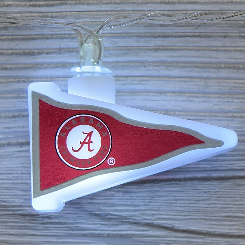 Red Sox String Lights : NCAA Alabama Crimson Tide LED Pennant Lights - Battery Operated