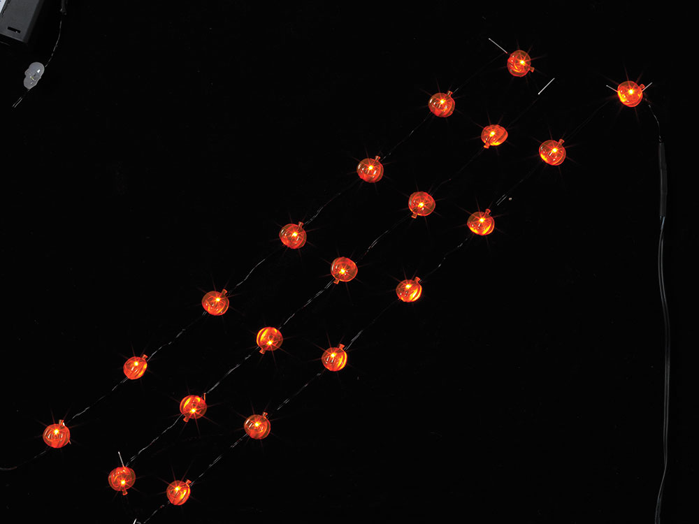 LED Halloween Pumpkin Battery Operated Party String Lights