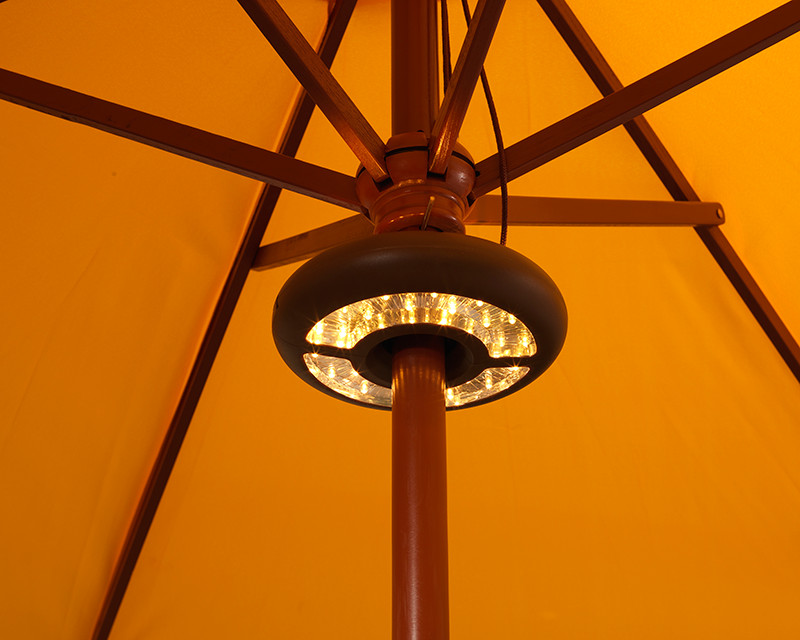 String Lights On Umbrella : LED Umbrella Light - Battery Operated