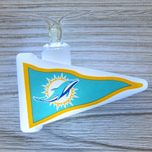 NFL New Orleans Saints LED Pennant String Lights - Battery Operated TP-NFL/DOLPHIN